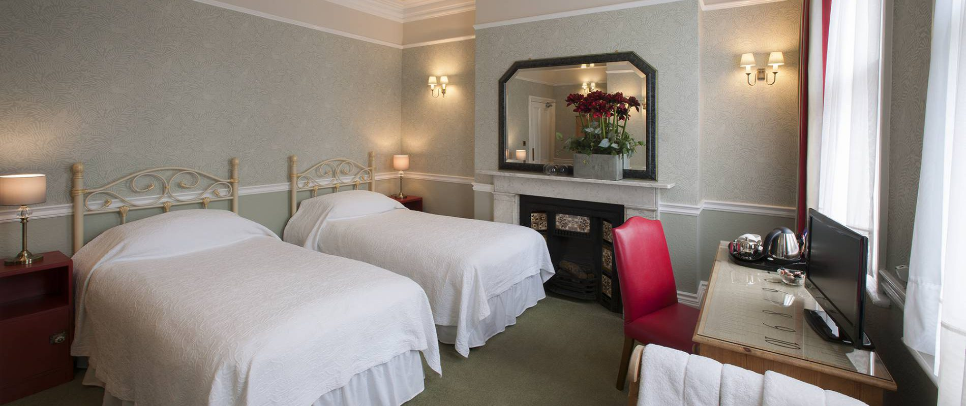 Yorke Lodge Bed & Breakfast Canterbury Kent twin room