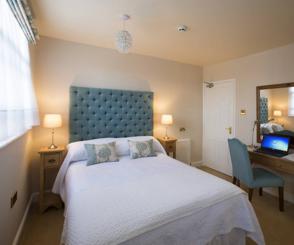 Yorke Lodge Bed and Breakfast Canterbury Kent double bedroom 0015