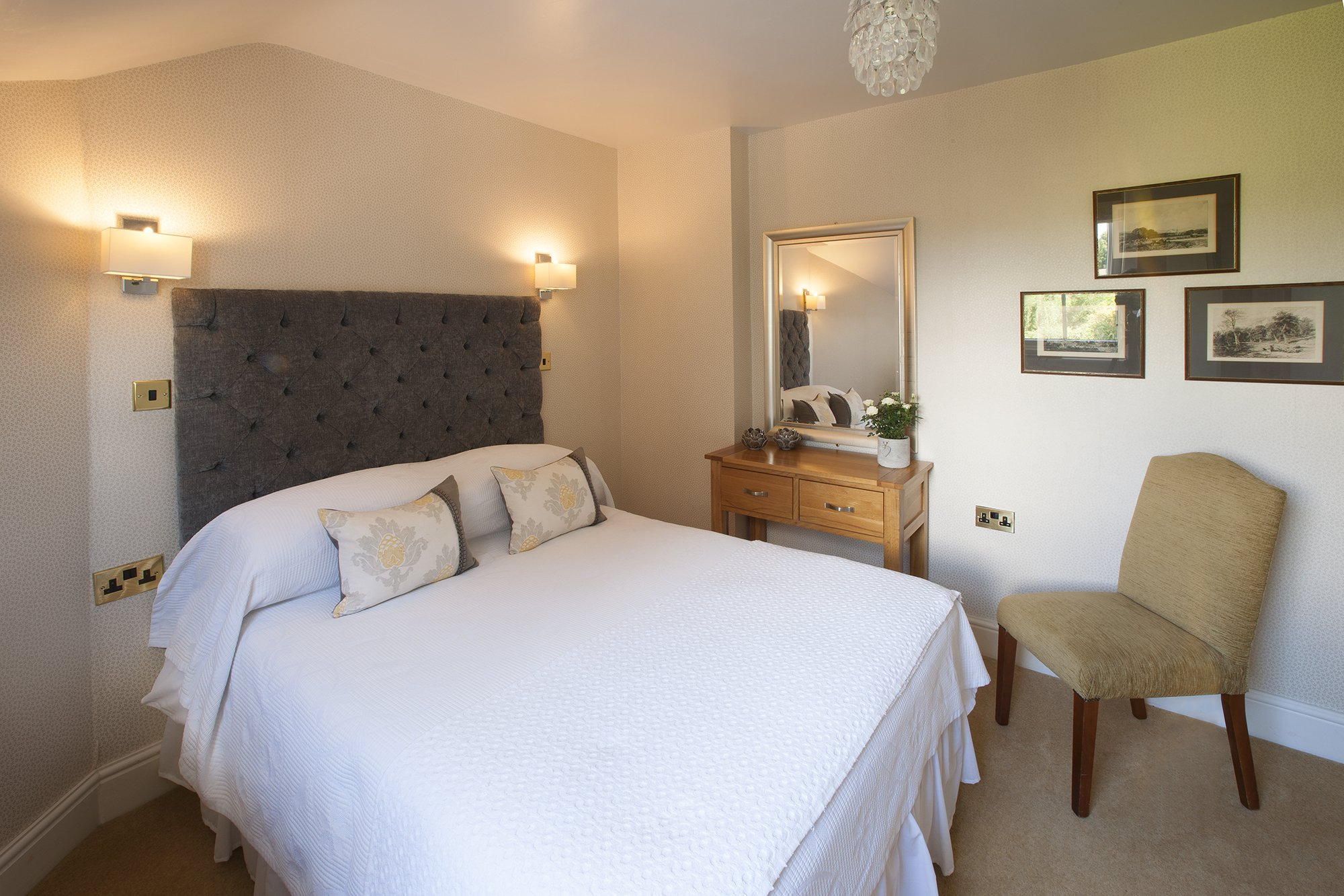 Yorke Lodge Bed and Breakfast Canterbury Kent small double bedroom