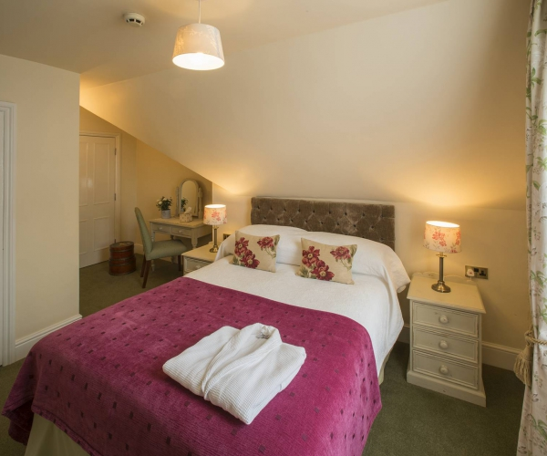 Yorke Lodge Bed and Breakfast Canterbury Kent double bedroom 0012