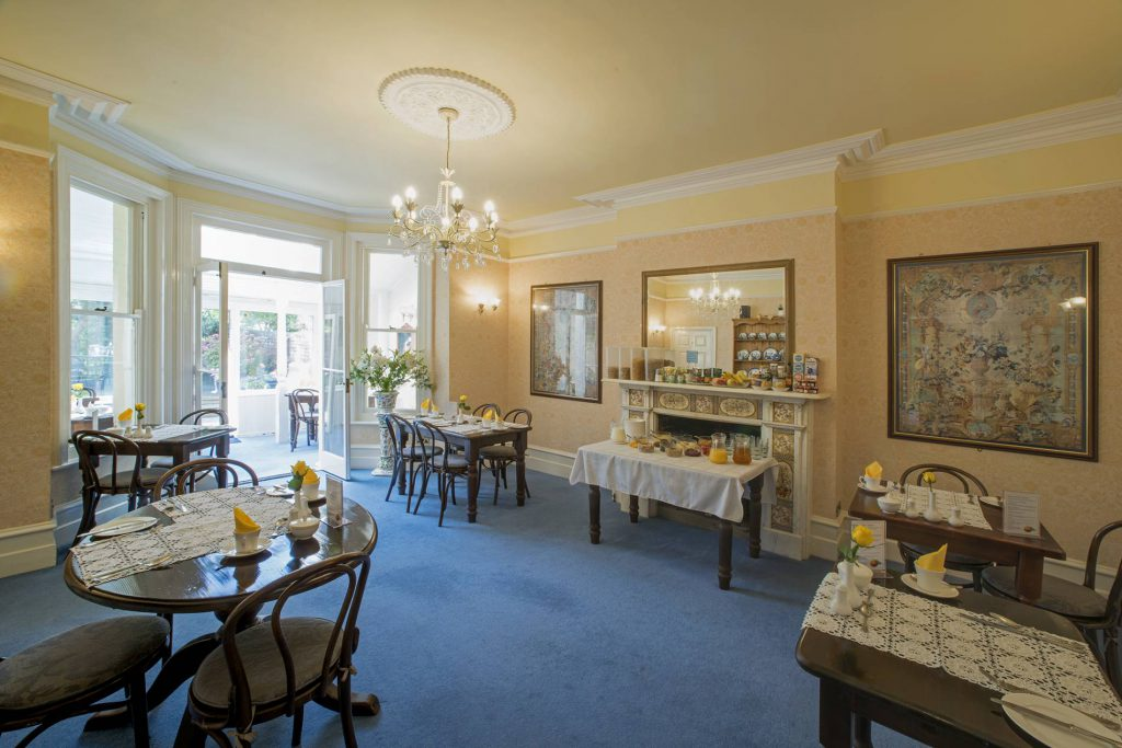 Yorke Lodge Bed & Breakfast Canterbury Kent dining room